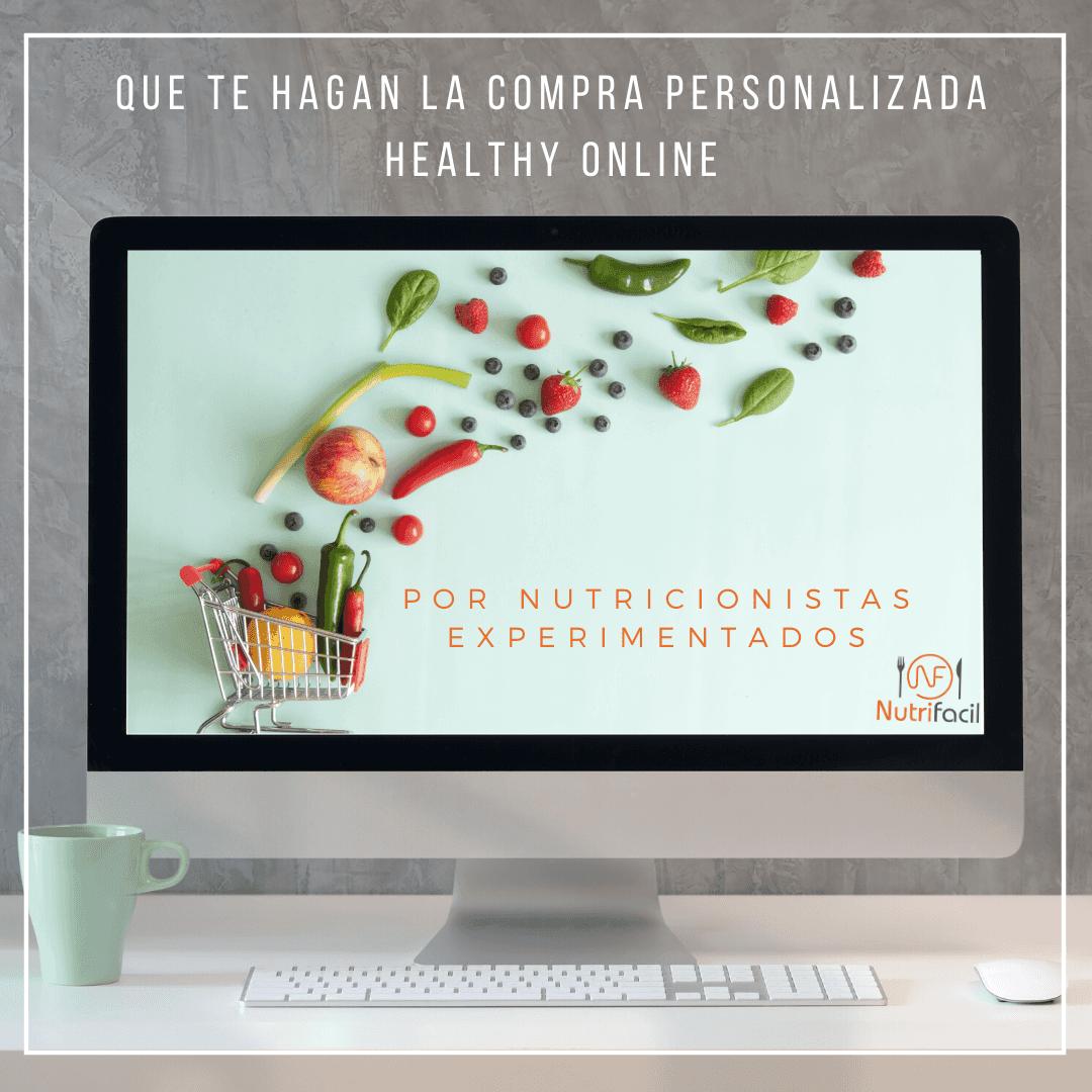 compara healthy online y personalizada