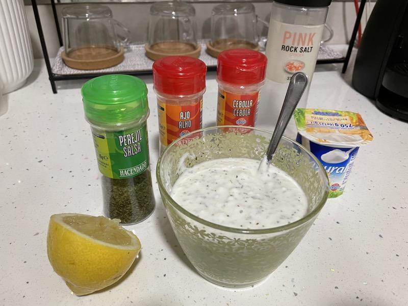 ingredientes-para-salsa-yogur-saludable
