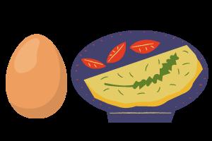 Huevos, proteina de calidad para dieta de opositores