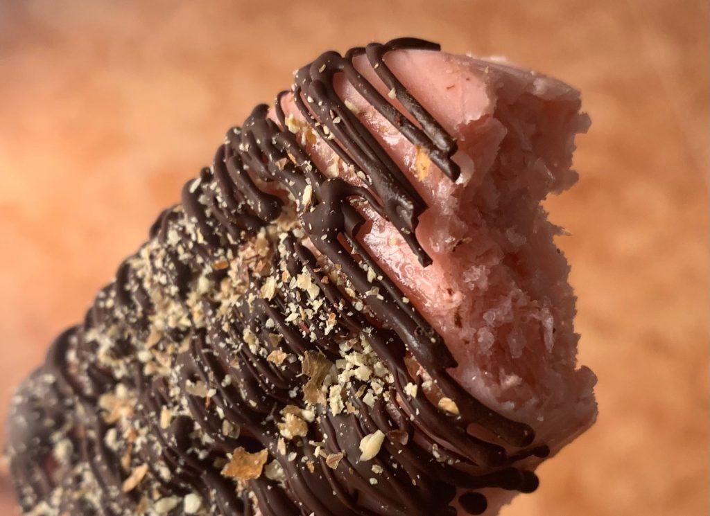 Helado con chocolate FacilAdo, helado saludable