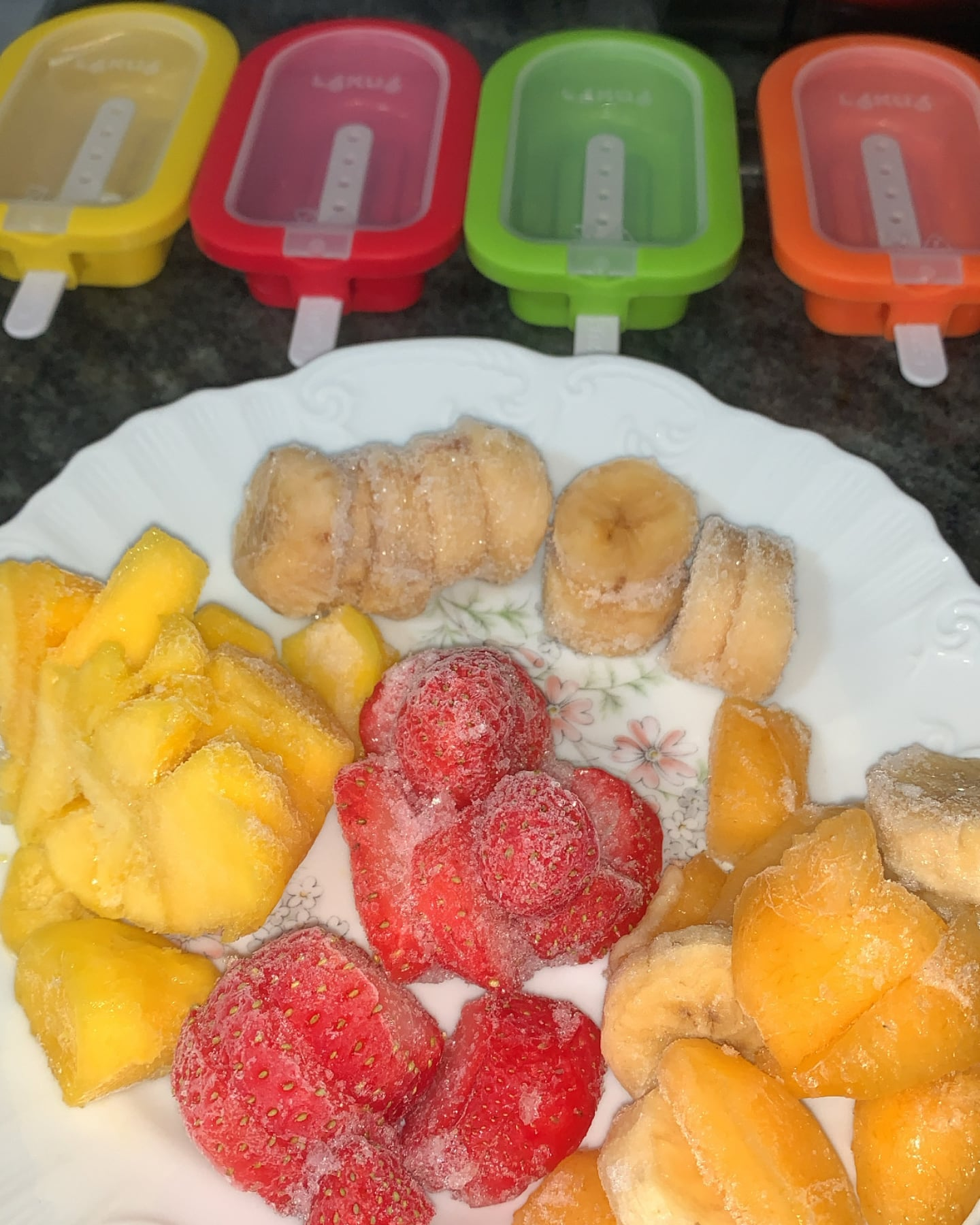 Preparado de frutas para los FacilAdos