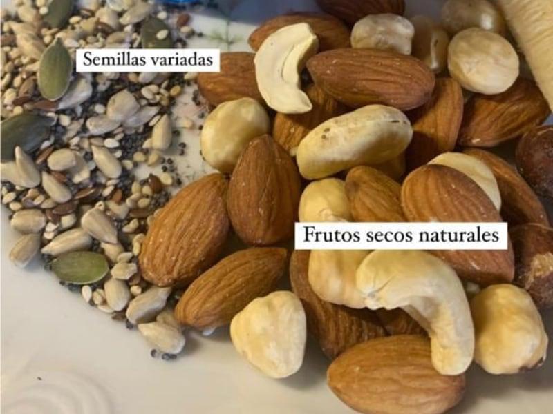 Frutos secos para preparar el desayuno
