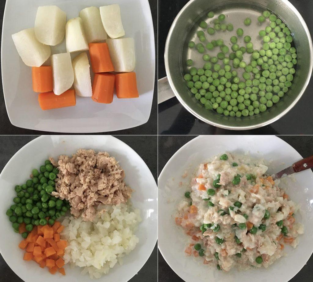 Pasos para preparar la mahonesa saludable de Nutrifácil